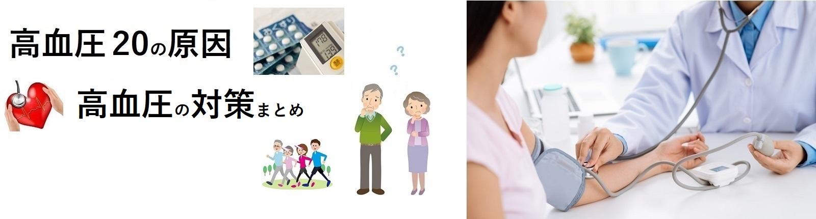 高血圧20の原因と高血圧の対策まとめ